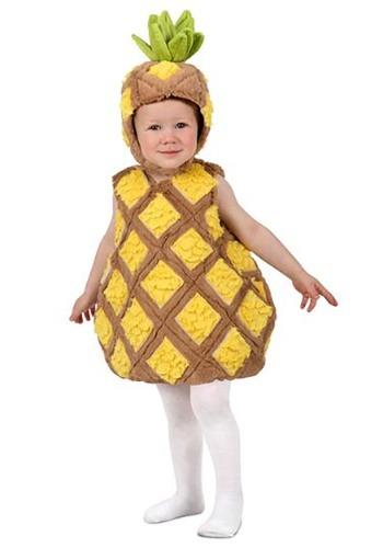 Disfraz de piña tropical para niños pequeños