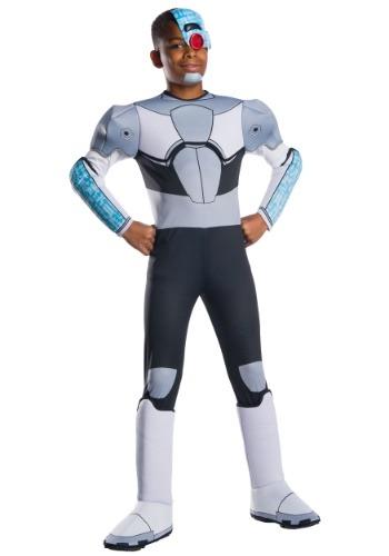 Disfraz de Cyborg para niños Teen Titans