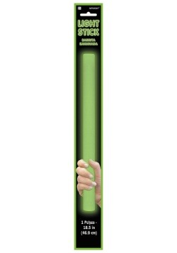 Green Foam Light Up Glow Stick - 18 ""