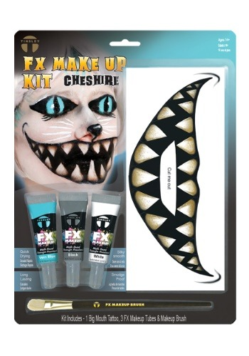 Kit de maquillaje Big Mouth del Gato de Chesire