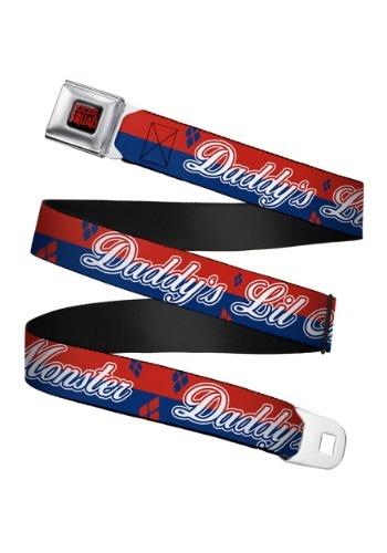 Escuadrón suicida Harley Quinn Escuadrón cinturón de segurid