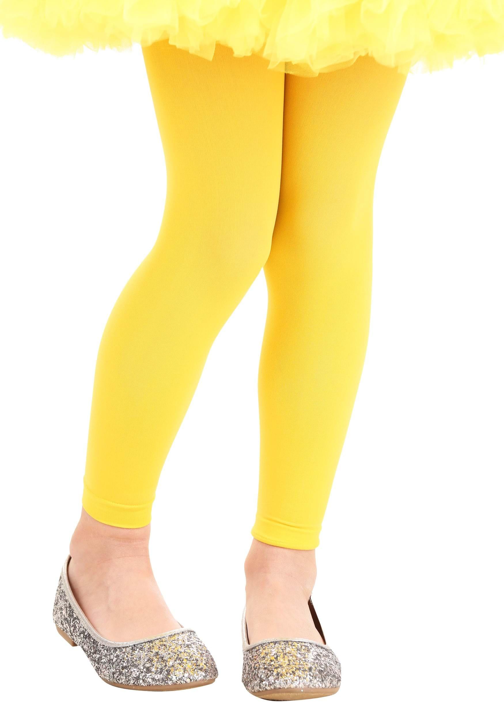 9d191e950 Mallas amarillas para niña