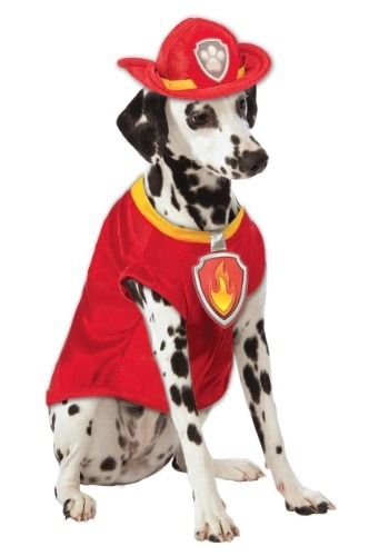 Disfraz de Marshall de Paw Patrol de el perro bombero