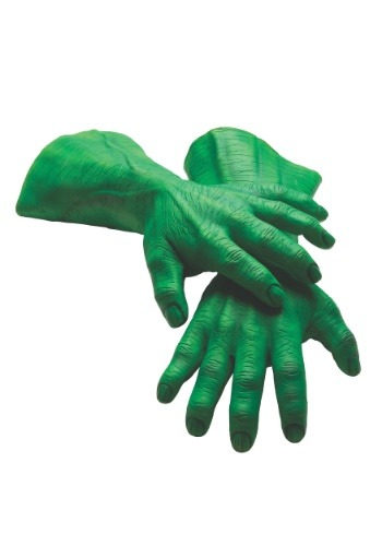 Hulk Hands Adult Deluxe Látex