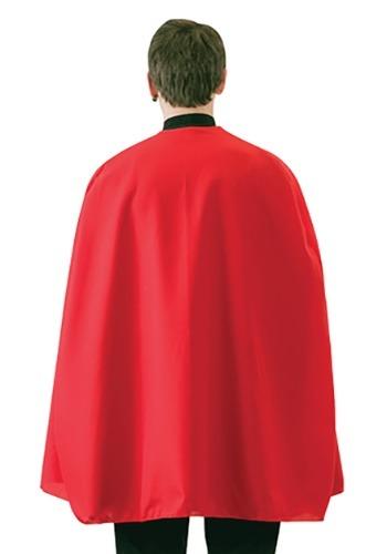 Capa de superhéroe roja para adulto