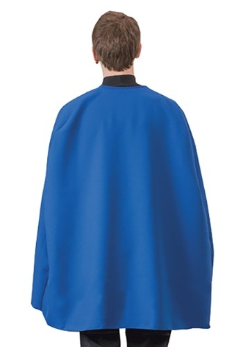Capa de superhéroe azul para adulto