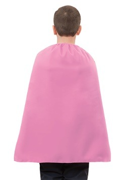 Capa de niño rosa superhéroe