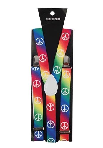 Tirantes con símbolo de paz