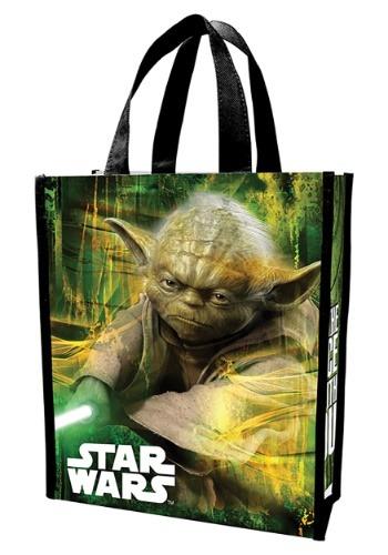 Bolsa de regalo de la compra reciclada de Yoda de Star Wars