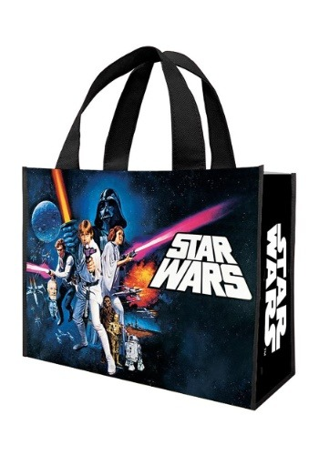 Star Wars A New Hope bolsa de golosinas recicladas grandes S