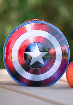 Marvel Capitán América Escudo en forma de caja de almuerzo d