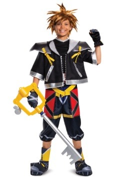 Disfraz de Kingdom Hearts Teen Sora Deluxe