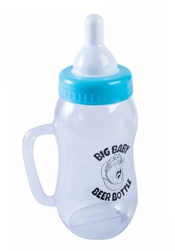 Botella azul de cerveza para bebé