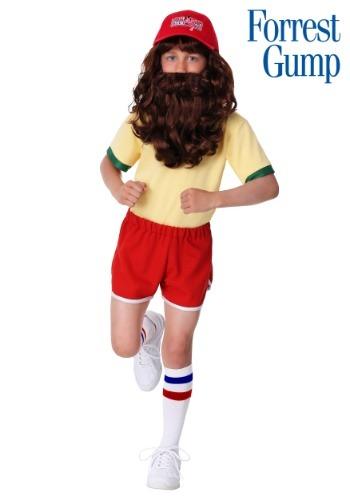 Disfraz de Forrest Gump corredor para niños
