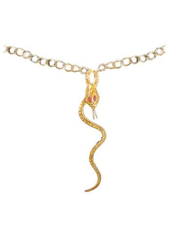 Collar egipcio de serpiente