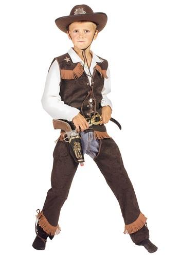 Disfraz de vaquero Rawhide para niños