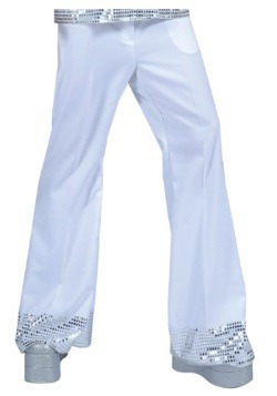 Pantalón Disco con tira de lentejuelas