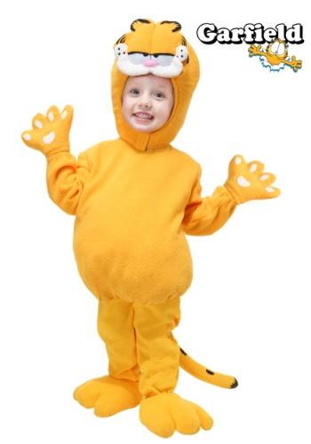 Disfraz de Garfield para niños pequeños