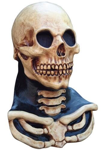 Máscara de cráneo de cuello largo
