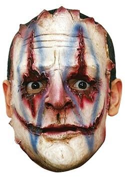 Máscara de payaso asesino en serie