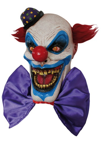 Máscara terrorífica de Scary el payaso