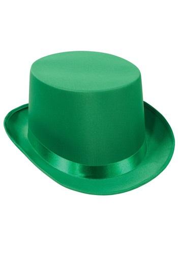 Sombrero de copa verde