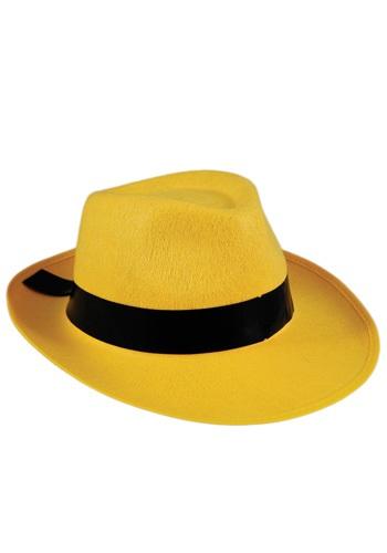 Sombrero amarillo Fedora