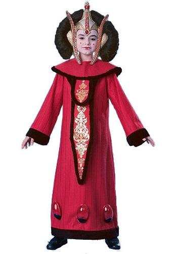 Disfraz de Reina Amidala super deluxe para niño