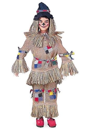 Disfraz de espantapájaros realista para niños