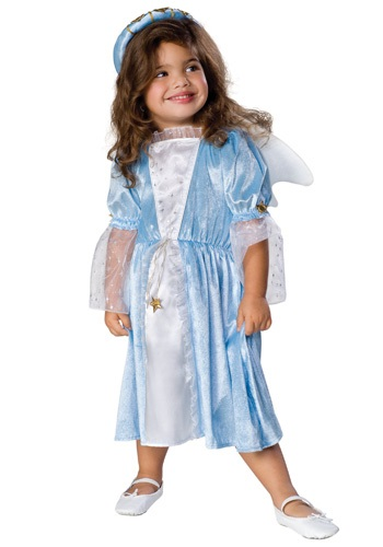 Disfraz de ángel azul para niño