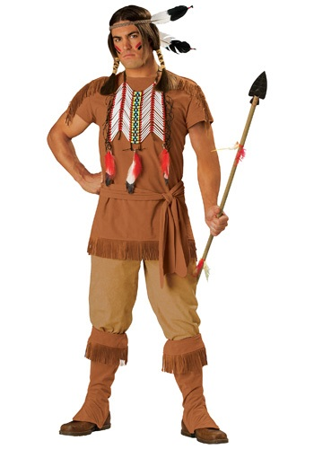 Disfraz de indio valiente