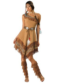 Vestido nativo tribal sexy