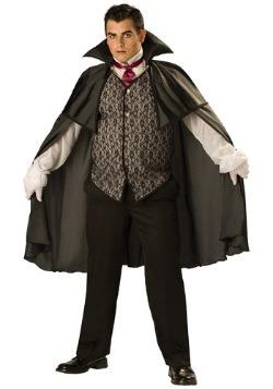 Disfraz de vampiro de medianoche talla extra