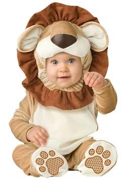 Baño de león adorable para bebés