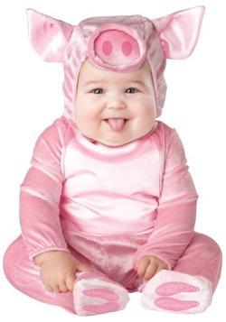 Disfraz de cerdito Lil Piggy para bebé