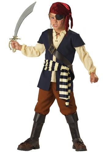 Disfraz de hombre pirata para niños