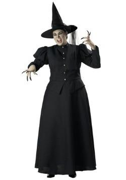 Disfraz de bruja negra talla extra