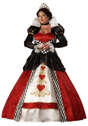 Disfraz de Reina de Corazones Adulto Plus Size