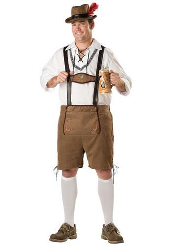 Disfraz de tipo Oktoberfest talla extra