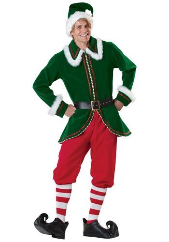 Disfraz de Elfo de Santa para adulto