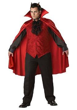 Disfraz de diablo talla extra para hombre
