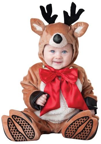 Disfraz de reno para bebé