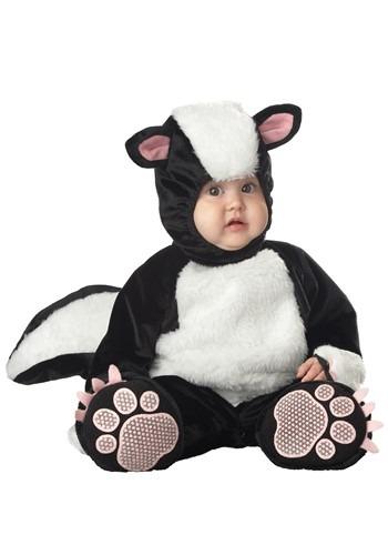 Disfraz de zorrillo para bebé