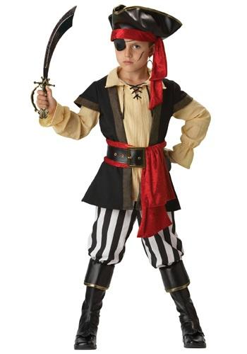 Disfraz de pirata canalla para niños