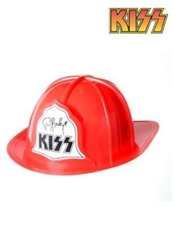 Sombrero de fuego KISS de plástico para adulto