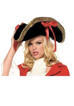 Sombrero de mujer pirata