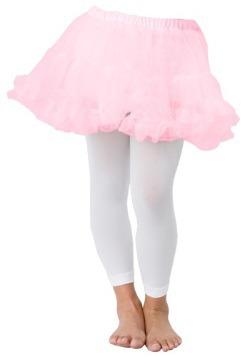 Enaguas color rosa para niños