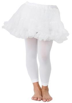 Enaguas blancas para niños