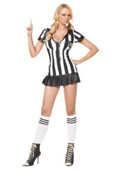 Disfraz de árbitro sexy