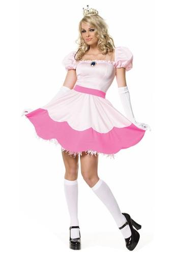 Disfraz de princesa rosa sexy
